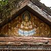 Low angle view of Buddhist temple, Luang Prabang, Laos