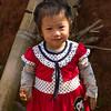 Girl smiling, Chiang Rai, Thailand