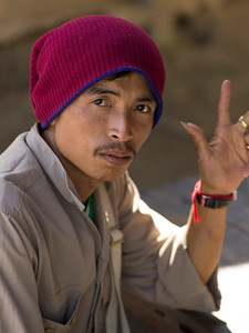 Portrait of man, Chiang Rai, Thailand