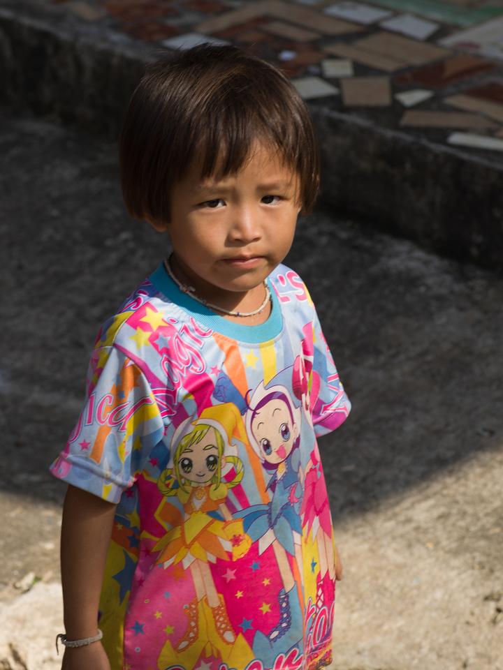 Portrait of a girl, Chiang Rai, Thailand