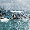 Tourists in boat, Koh Samui, Surat Thani Province, Thailand
