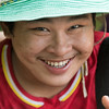 Portrait of a man smiling, Koh Samui, Surat Thani Province, Thailand