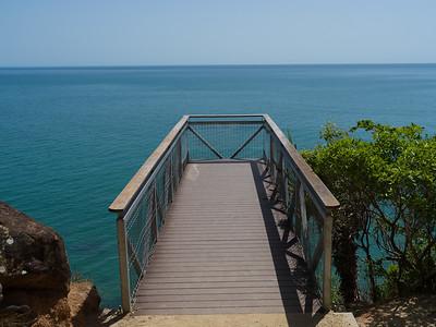 Scenic view of Pacific Ocean, Port Douglas, Queensland, Australia