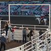 Spectators at the annual Calgary Stampede, Calgary, Alberta, Canada
