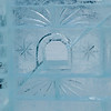Close-up of ice castle wall, Lake Louise, Alberta, Canada
