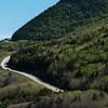 Scenic view of a mountain road, Pleasant Bay, Cape Breton Highlands National Park, Cape Breton Island, Nova Scotia, Canada