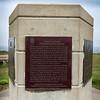 Information sign at Fort Petrie, New Victoria, Cape Breton Island, Nova Scotia, Canada