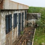 Abandoned building at Fort Petrie, New Victoria, Cape Breton Island, Nova Scotia, Canada