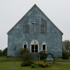 Facade of a church, Cape Breton Island, Nova Scotia, Canada
