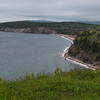 Scenic view of coastline, Ingonish, Cabot Trail, Cape Breton Island, Nova Scotia, Canada