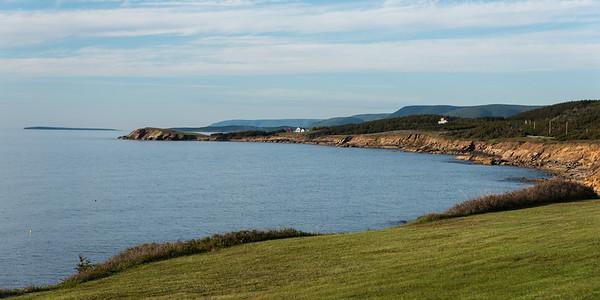 Scenic view of Margaree Harbour, Cabot Trail, Cape Breton Island, Nova Scotia, Canada