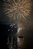 Canada Day firework display, Unorganized Kenora, Kenora, Lake of The Woods, Ontario, Canada