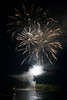 Canada Day firework display, Keewatin, Unorganized Kenora, Kenora, Lake of The Woods, Ontario, Canada