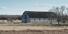 Barn in a field, Manitoba, Canada