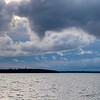 Clouds over the lake, Lake Winnipeg, Riverton, Hecla Grindstone Provincial Park, Manitoba, Canada