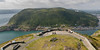 Elevated view of city from observation point, St. John's, Newfoundland and Labrador, Canada