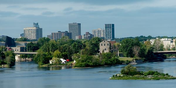 Victoria Island, Ottawa River, Ottawa, Ontario, Canada