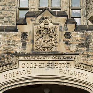 Confederation Building, Parliament Hill, Ottawa, Ontario, Canada