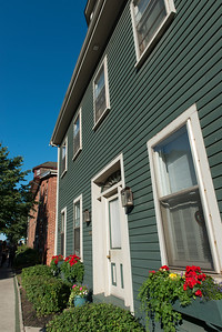 Facade of a house, Charlottetown, Prince Edward Island, Canada
