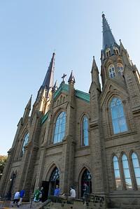 St. Dunstan's Basilica in Charlottetown, Prince Edward Island, Canada