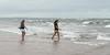 Girls on the beach, Prince Edward Island, Canada