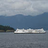 View of the BC ferry, Bowen Island, British Columbia, Canada