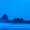 View of beach, Pacific Rim National Park Reserve, Tofino, Vancouver Island, British Columbia, Canada