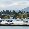 View of BC Ferry, Bowen Island, British Columbia, Canada