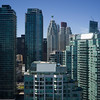Skyscrapers in a city, Toronto, Ontario, Canada