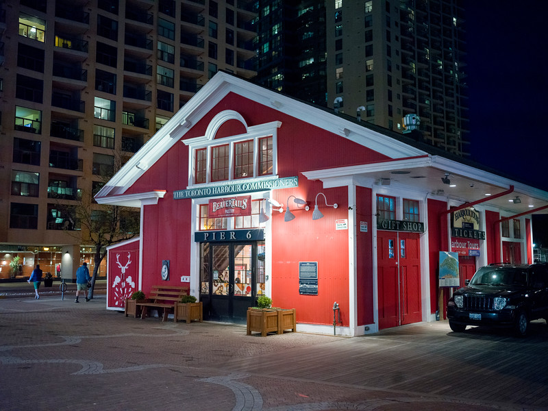 Restaurant at harbor, BeaverTails, 145 Queens Quay, Pier 6, Toronto, Ontario, Canada
