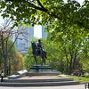 King Edward VII statue in Queen's Park, Toronto, Ontario, Canada