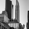 Low angle view of skyscrapers, Scotia Plaza, Toronto, Ontario, Canada