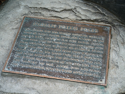 Close-up of memorial plaque, Stanley Park, Vancouver, Lower Mainland, British Columbia, Canada