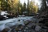 Stream flowing through rocks, Whistler, British Columbia, Canada