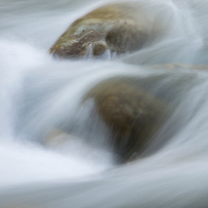River flowing through rocks, Whistler, British Columbia, Canada