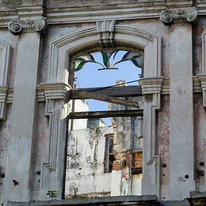 Low angle view of an old building, Havana, Cuba