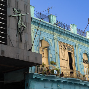 Low angle view of a building, Havana, Cuba