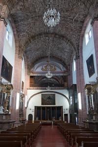Interiors of a church, Zona Centro, San Miguel de Allende, Guanajuato, Mexico
