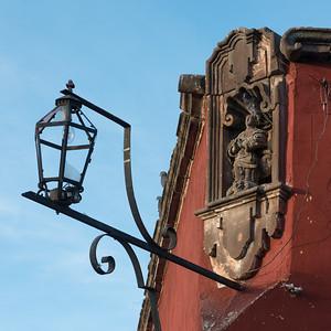 Metal Lantern in Zona Centro, San Miguel de Allende, Guanajuato, Mexico