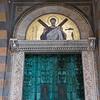 Doorway detail of the Amalfi Cathedral, Amalfi, Amalfi Coast, Salerno, Campania, Italy