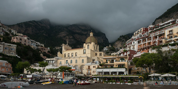 Buildings in town, Positano, Amalfi Coast, Salerno, Campania, Italy