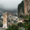 Buildings on hillside Amalfi, Amalfi Coast, Salerno, Campania, Italy