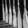 Shadow on wall, Villa Rufolo, Ravello, Amalfi Coast, Salerno, Campania, Italy