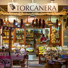View of a shop display at night, Ischia Island, Italy