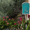 Mailbox in a garden, Praiano, Amalfi Coast, Salerno, Campania, Italy