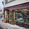 Gift shop in village, Austvagoy, Lofoten, Nordland, Norway