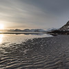 Scenic view of sunset over sea, Lofoten, Nordland, Norway