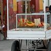 Food stall on street, Centro, Dolores Hidalgo, Guanajuato, Mexico