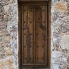 Wooden Doorway of a house, Zona Centro, San Miguel de Allende, Guanajuato, Mexico