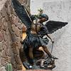 Close-up of statue, Zona Centro, San Miguel de Allende, Guanajuato, Mexico